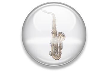 Musikbuttons Aqua: Saxophon