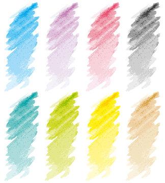 Brush pastel colors