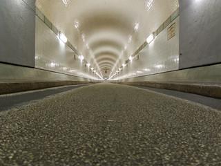 Tunnel in Hamburg, under the Elbe