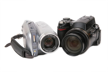 Modern photo and HDV cameras