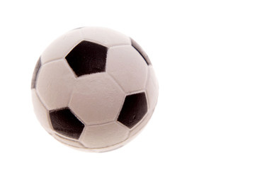 Football isolated over white background