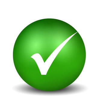 Check Symbol - green
