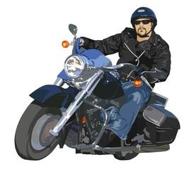 Wall Mural - motociclista