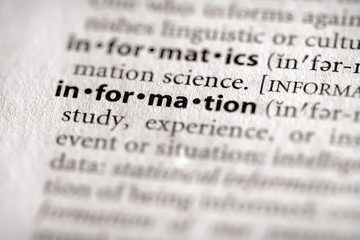 """""""information"""". Many more word photos for you in my portfolio...."""