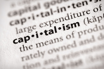 """""""capitalism"""". Many more word photos for you in my portfolio...."""