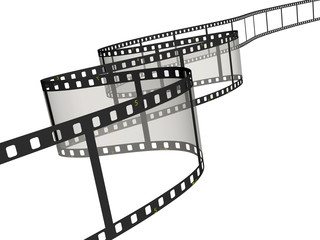 Ribbon of the film