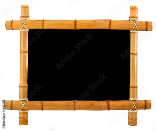 Cadre en bambou photo libre de droits sur la banque d 39 images - Acheter cadre en ligne ...