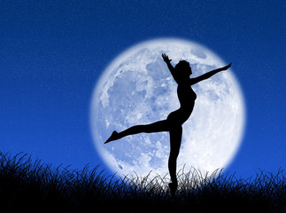 Ballo nella luna