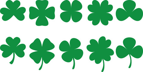 Shamrocks - vector