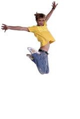 jumping young man 2