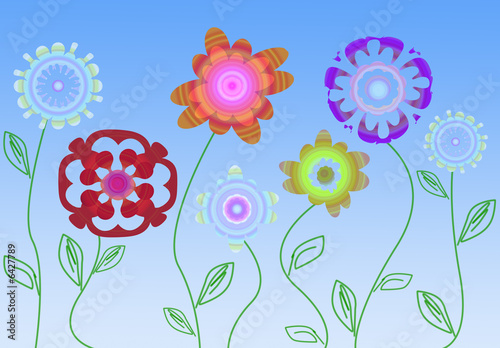 Fiori stilizzati immagini e fotografie royalty free su for Fiori stilizzati immagini