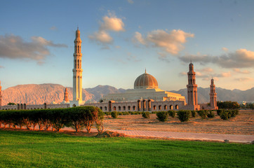 Sultanate of Oman - Palace in Muscat City