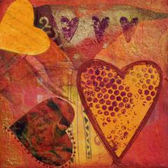 Herz Collage