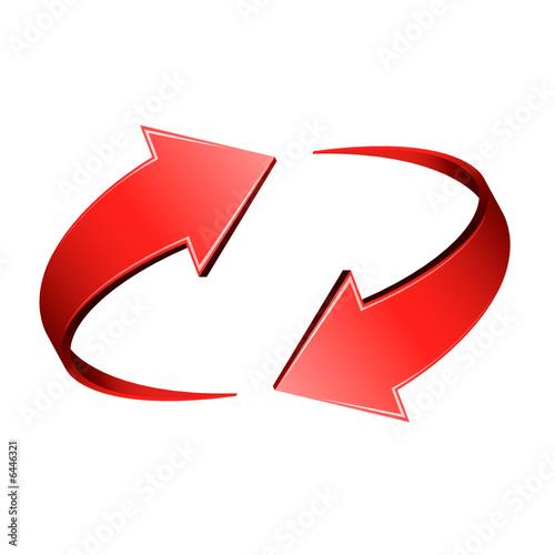 fl ches rouge fichier vectoriel libre de droits sur la banque d 39 images image 6446321. Black Bedroom Furniture Sets. Home Design Ideas