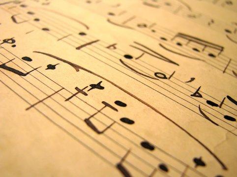 Music sepia - 5