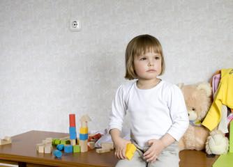 small child portrait