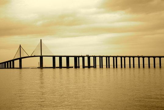 Skyway Bridge in Tampa, Florida
