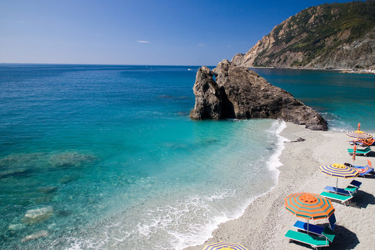 Relaxing at Monterosso