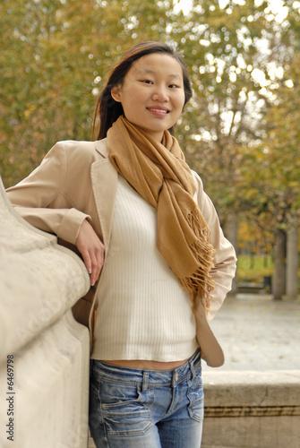 Junge Chinesin