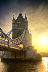 Keuken foto achterwand Londen Towerbridge