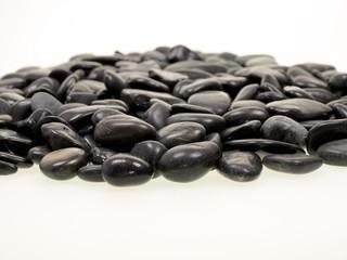 fußtherapie,schwarze steine,zen garten