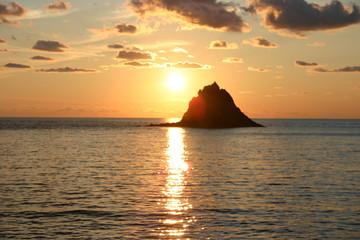 Palmarola - Sunset