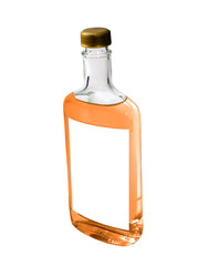 Tequila isolated on a white background.