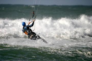 départ kitesurf