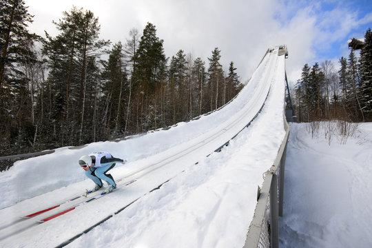 winter extreme sport photo