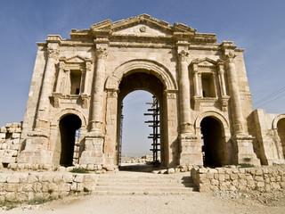 Hadrian Arch of Triumph, Jerash
