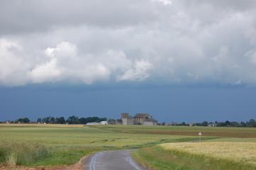 avant l'orage en Beauce