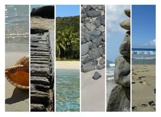 Caribbean Beach Montage