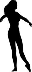 image 03 pose pirouette silhouette left cam