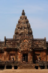 temple khmer, phanom rung, thailande