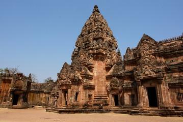 art khmer, temple phanom rung, thailande