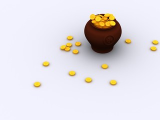 pot gold
