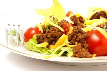 Taco Salad Close Up