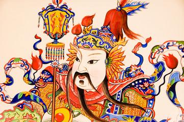 oriental god