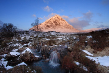 Sunrise in Glencoe