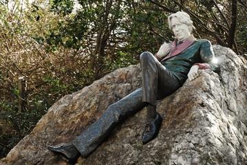 Writer, Dublin, Merrion Square