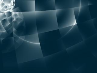 Modern hitech design - the square