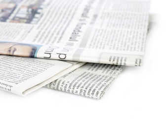 Isolated newspapers