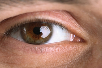 Eye of the man