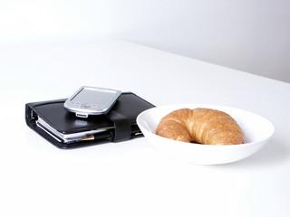 lunch frühstück pause brunch croissant