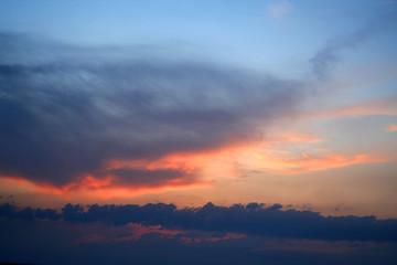 beautiful sanset / sky