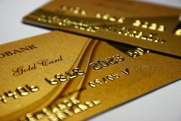 Gold Bank Card
