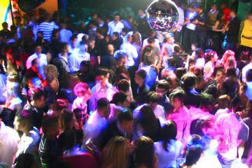 Obraz discoteca - fototapety do salonu