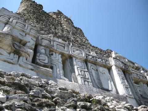 Xunantunich Mayan ruin in Belize