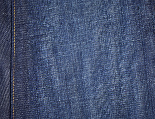 Denim Background with Seam