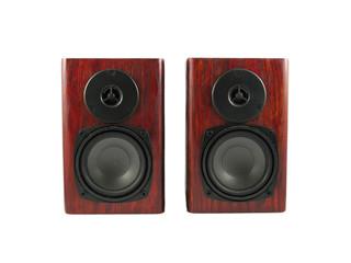 wooden loudspeakers stereo hi-fi